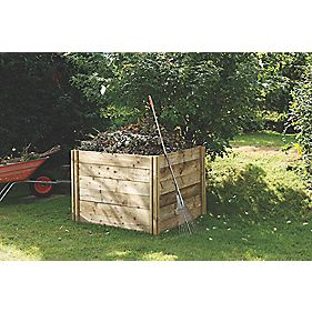 Forest Slot-Down Composter Natural x x