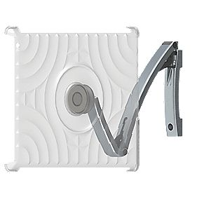 Secura Sanus iPad Mount with MagFit Case Brushed Aluminium