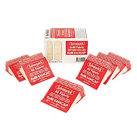 Wallace Cameron Cederoth Fabric Plaster Refill 6 Packs of 40