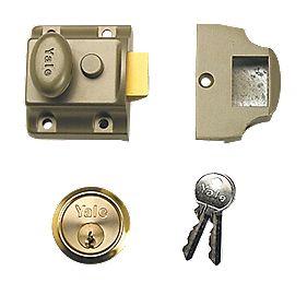 Yale 706 Night Latch Bronze 40mm Backset