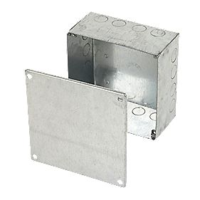 Appleby Adaptable Box Knockout Box Galvanised 150 x 150 x 75mm