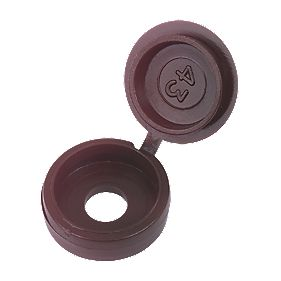 Snap Caps 6-8 Gauge Brown Pack of 100