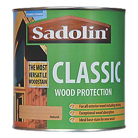 Sadolin Classic Woodstain Natural 1Ltr