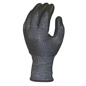 Skytec Ninja Knight Cut-Resistant Gloves Grey / Black X Large