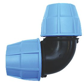 FloPlast MDPE Elbow 20mm