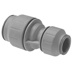 JG Speedfit PEM211510DG Reducing Coupler Grey 15 x 10 Pack of 10