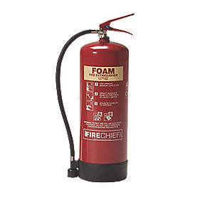 Firechief Foam Fire Extinguisher 9Ltr
