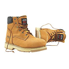 Timberland Traditional Safety Boots Wheat Size 8