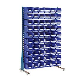MSS1.5 Spacemaster Single-Sided Storage Bin Kit 60 x TC3 Blue