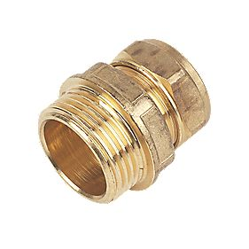 Male Coupler 22mm x 1""