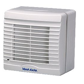 Vent-Axia VA100 SVXH12 20W Axial Bathroom Fan with Pullcord