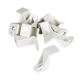 Manrose Flat Channel Clip 225mm Pack of 10