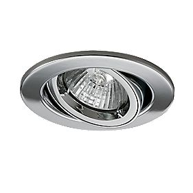 JCC Lighting Designs Adjustable Round Fire Rated Recessed Downlight Chrome 240V