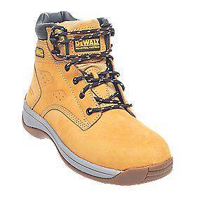 DeWalt Bolster Ladies Safety Boots Honey Size 6 (6209D)