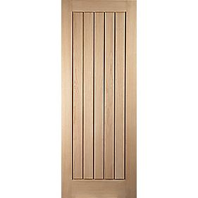 Jeld-Wen Oregon Cottage Interior Door Oak Veneer 610 x 1981mm