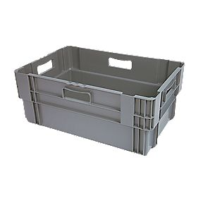 47Ltr Stack & Nest Container 600 x 400 x 240mm Pack of 5