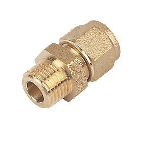 Male Coupler 8mm x ¼""