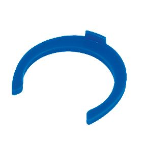 FloPlast Flo-Fit Collet Clips Blue 22mm Pack of 50
