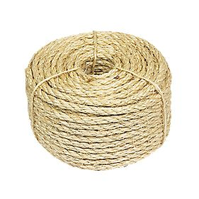 Sisal Natural Rope 6mm x 30.5m
