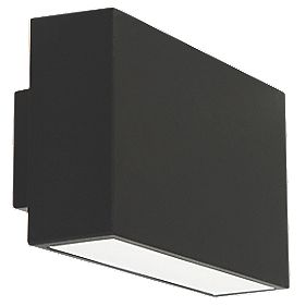 Ranex Ebony Black LED Wall Light