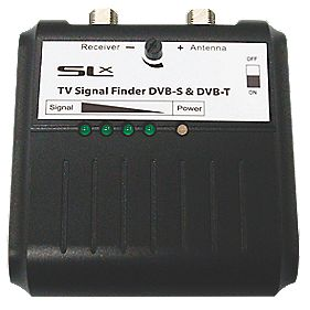 SLX Combined DVBT / Satellite Finder