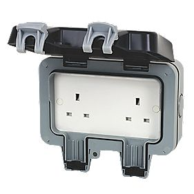 BG Nexus 13A 2 Gang Unswitched Socket