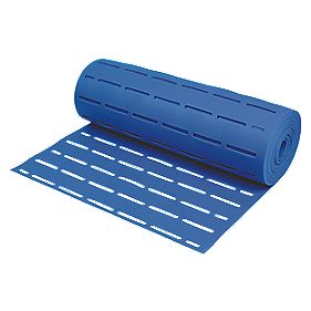Acoustalay Slatted 'Glue-Through' Foam Underlay 5mm 16.5m² Blue