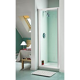 Aqualux Pivot Door 760mm White