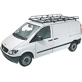 Rhino Modular Rack R514 Low Roof & Tailgate LWB/Mercedes