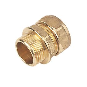 Male Coupler 22mm x ¾""