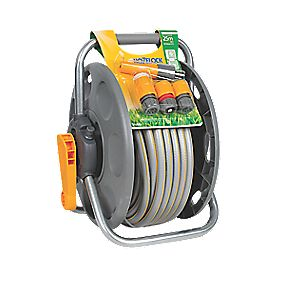 Hozelock 2-in-1 Reel with 25m Hose