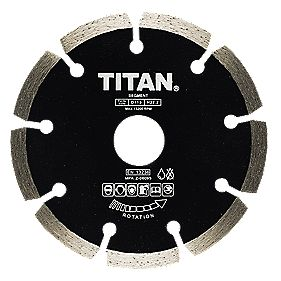Titan Diamond Blade Medium/Hard 115x22.2mm