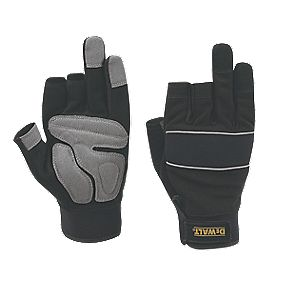 DeWalt Performance Performance 3-Finger Framers Gloves Black/Grey Large
