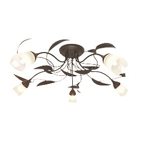 Sherwood 5-Light Ceiling Light Brown 40W