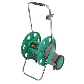 Hozelock Assembled Hose Reel & Cart 60m Capacity m