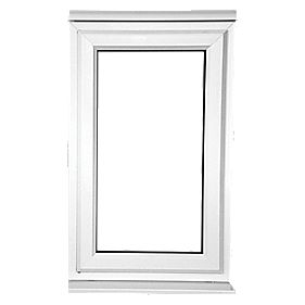S AS Double-Glazed uPVC Window Clear 620 x 1050mm