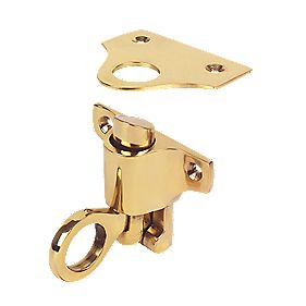 Fanlight Catch Polished Brass