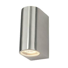 Masterlite Brushed Alloy Vela Wall Light 35W