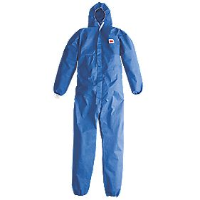 "3M Disposable Coveralls Blue X Large 48-50"" Chest 31"" L"