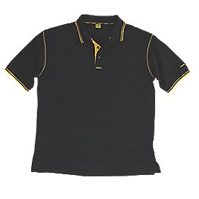 DeWalt Polo Shirt XL Black