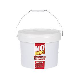 No Nonsense Rapid Setting Tile Adhesive Grey 15kg