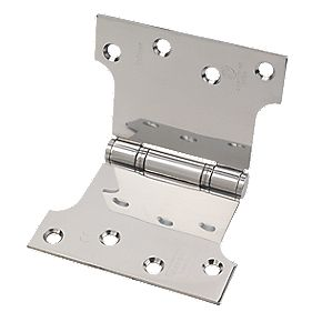 Eclipse Parliament Hinge Polished Stainless Steel 102 x 152mm Pack of 2