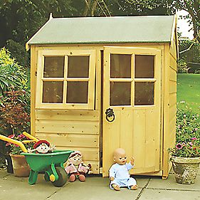 Bunny Playhouse 3' 6 x 3' 6 x 1.5m