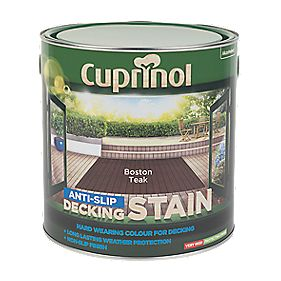 Cuprinol Ultra Tough Decking Stain Boston Teak 2.5Ltr