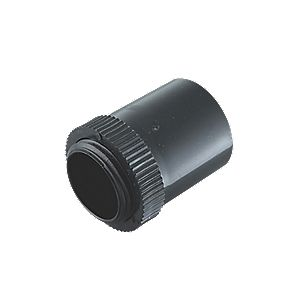 Tower Male Adaptors 20mm Black Pack of 2
