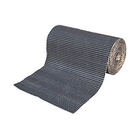 Duralay Medium Carpet Underlay 80lb Waffle 7.8mm 10m² Black
