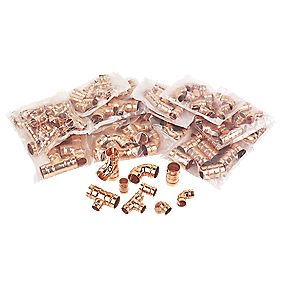 Solder Ring Fittings 125 Piece Set