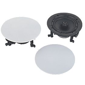 "Fusion MS-CL602 6½"" In-Ceiling Speakers Pair"