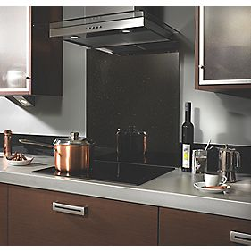 Galaxy Self-Adhesive Toughened Glass Splashback 750 x 600 x 6mm
