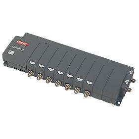 Labgear LDA2061L/S 4-Way VHF / UHF Aerial Amplifier 2 Inputs 6+1 Outputs